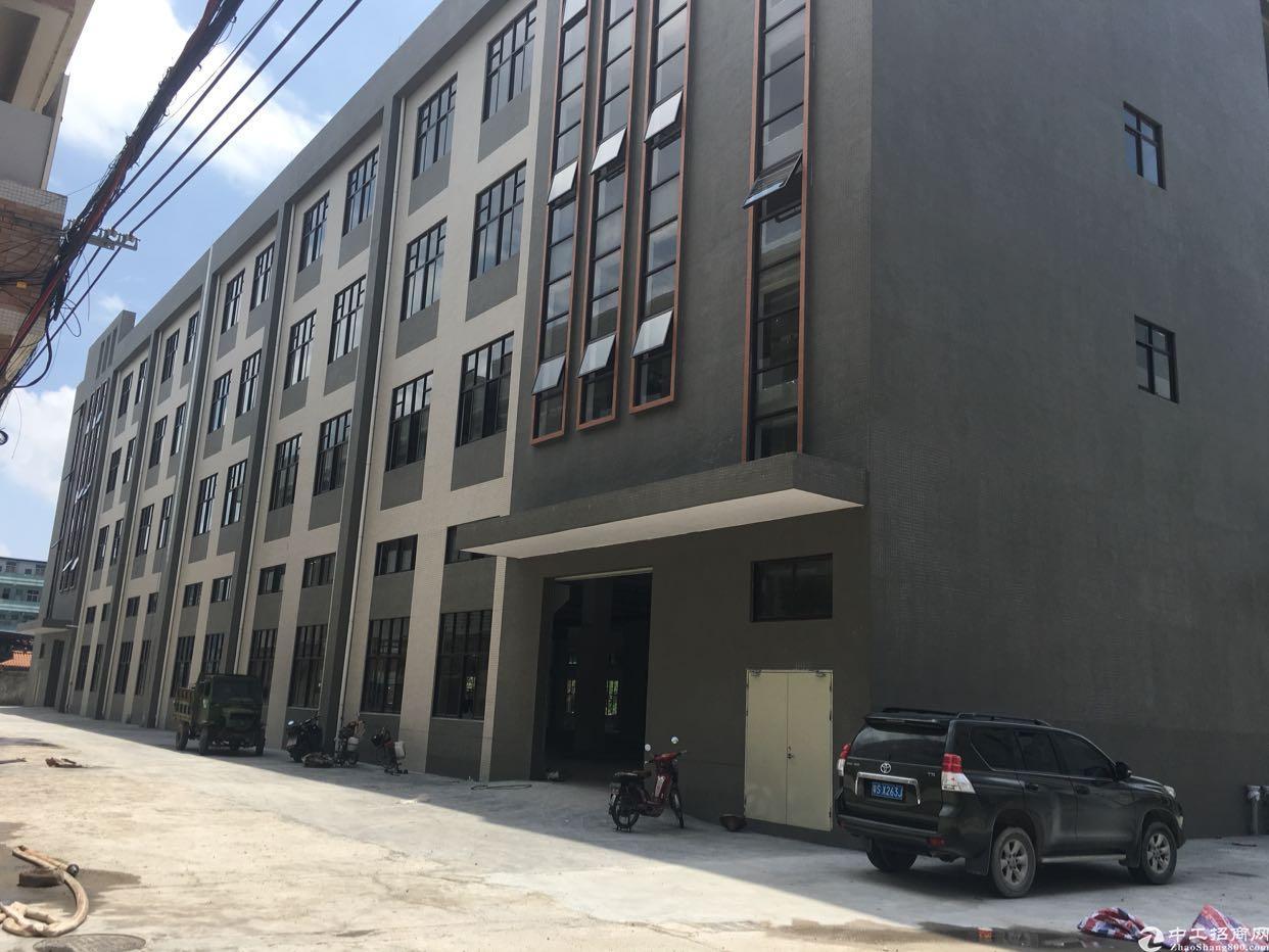桥头成熟工业区新出全新标准厂房1-4层13800平方带牛角