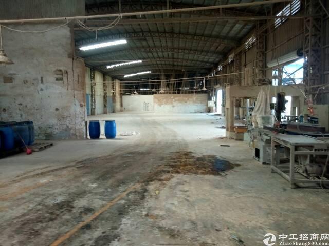 大岭山独院钢构出租3700平租22交通便利可做家具喷油