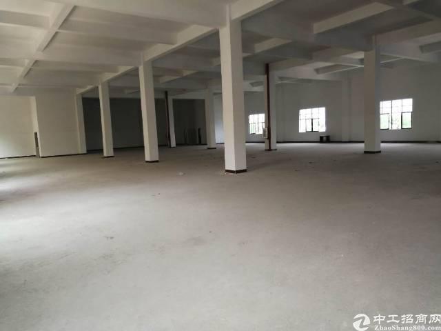 谢岗三层小独院厂房5100平方单层1700平方,一楼高6米,