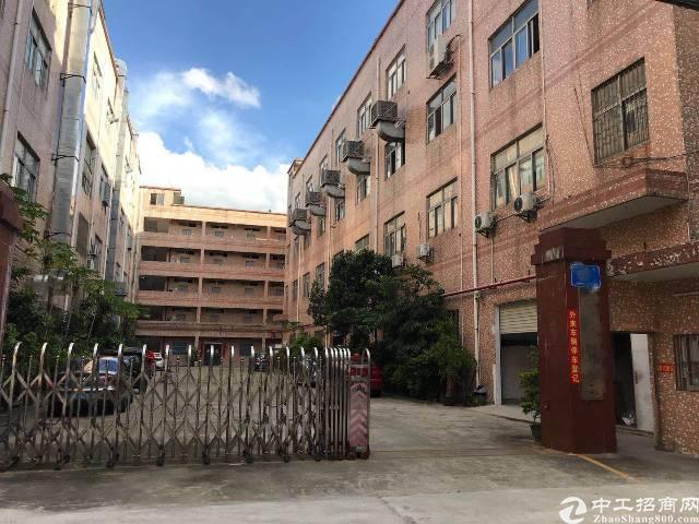 原房东独院厂房1-4层6800平米,园区大小可以分租