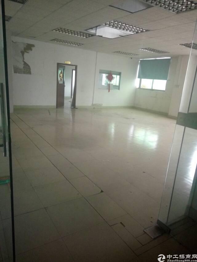 深圳宝安福永地铁口新出楼上2200平米标准厂房