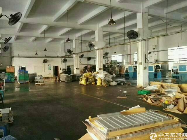 布吉慢城新出楼上650平带装修标准厂房出租-图2