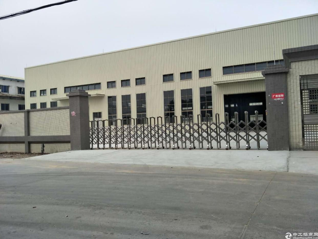 独院钢构厂房招租2600方