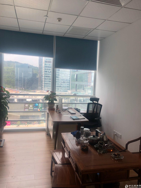 梅林关深圳北站看山水美景豪装写字楼
