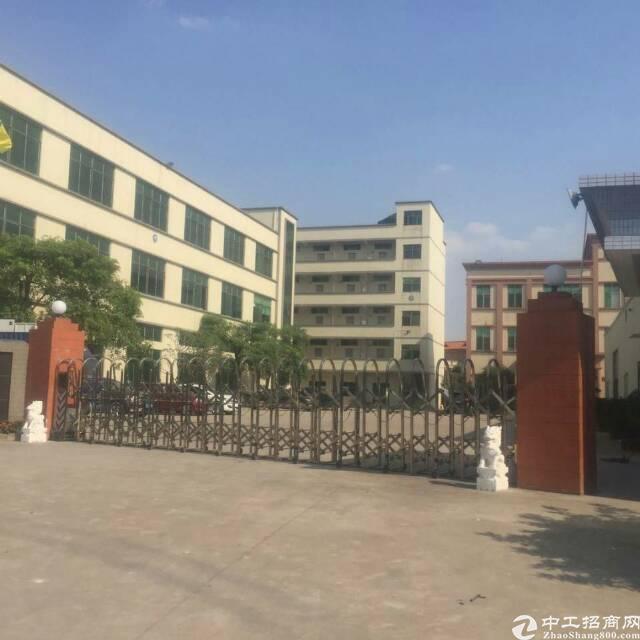 省道边上原房东9成新独院标准厂房带独立办公楼低价出租