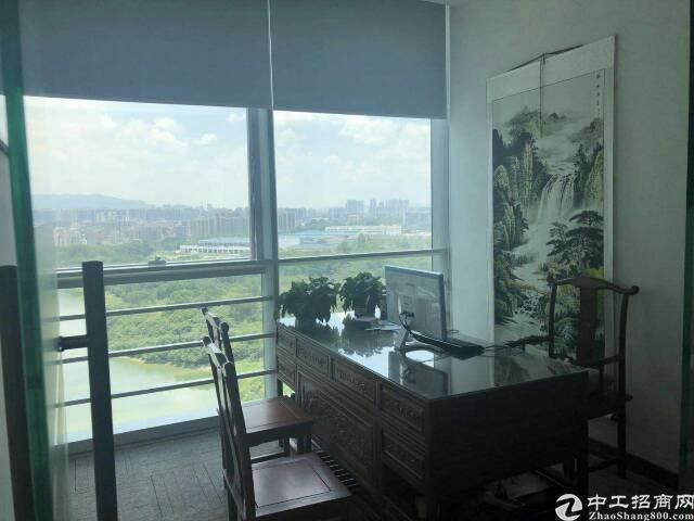 深圳北站民治白石龙地铁口精装修写字楼392平低价出租
