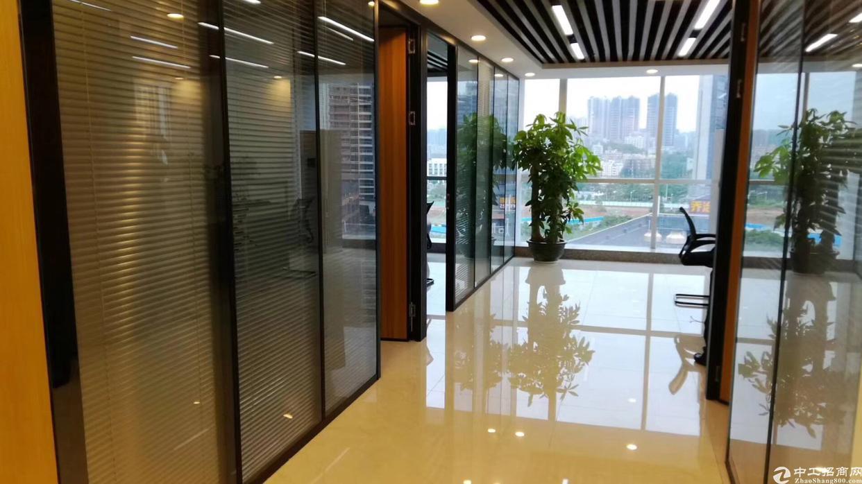 清湖地铁口甲级写字楼226平仅租75一平