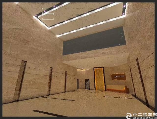 靠近华为拎包入场的写字桉楼图片1