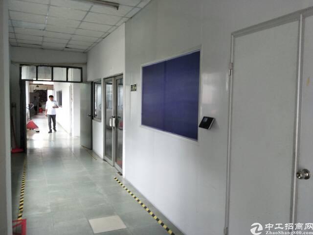 长安街口新出一楼1500平米带装修厂房。
