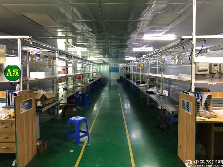 福永新和新出楼上整层1980平米带装修厂房出租