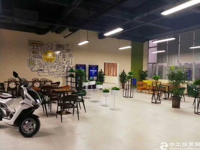 横岗新马眼镜城附近新出独院一楼带装修层高6米厂房出租-图3