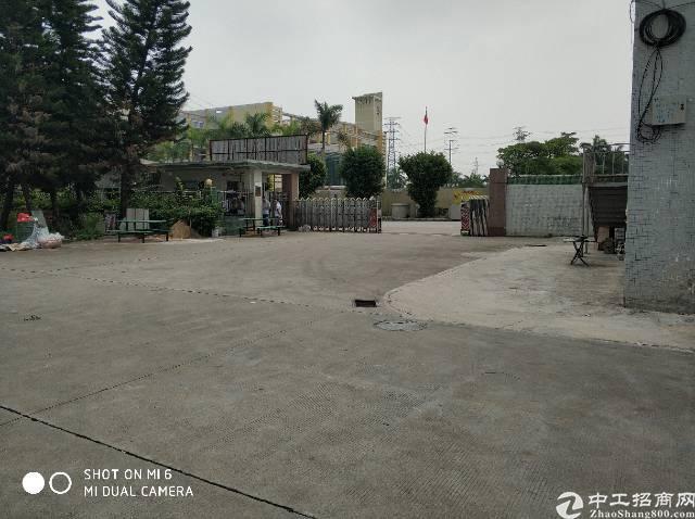 东莞市高埗镇芦溪村园区内标准厂房招租