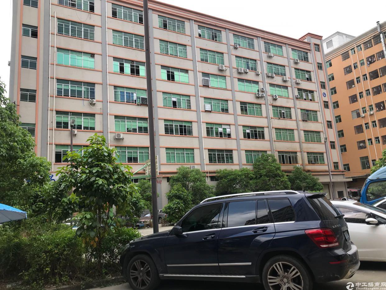 福永镇沿江高速出口一整层带装修2300平厂房招租
