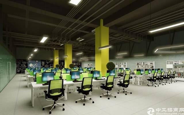 横岗新马眼镜城附近新出独院一楼带装修层高6米厂房出租-图4
