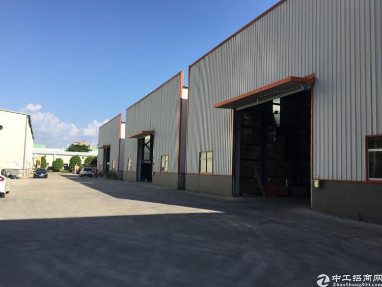 江门16000平方钢构厂房出售