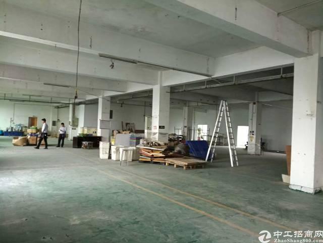 福永白石厦新塘工业区楼上1180㎡厂房出租