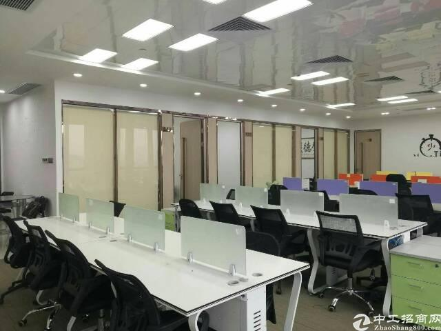 南联地铁口精装修办公室500平出租-图2
