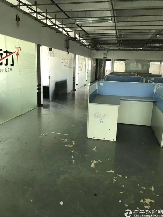 沙井沙三上下围工业区4楼2098平米,租金25元,已空!13
