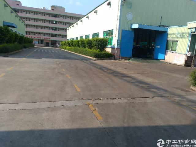 沙井新桥原房东3400平钢构厂房出租