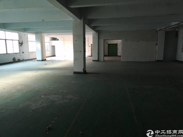 西乡桃源居附近新出楼上1150平稀缺厂房出租,