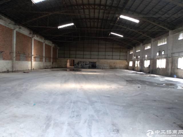 大岭山新出单一层钢构厂房2000平方米出租