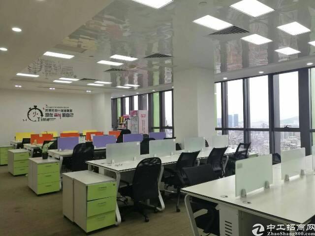 南联地铁口精装修办公室500平出租-图5
