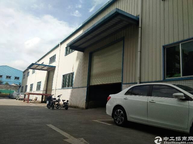 龙华清湖地铁站附近新出1500平钢钩厂房出租