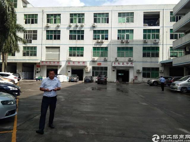 平湖华南城边上新出一楼1000平方原房东厂房招租