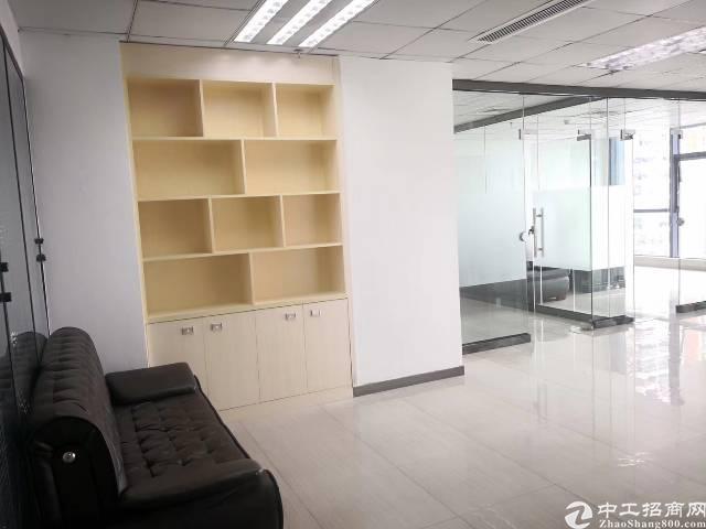 龙华清湖甲级写字楼尚美中心235平88一平精装修带部分家私