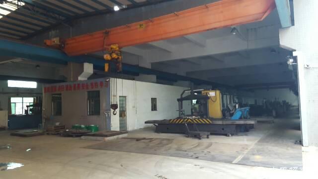 新出原房东1000平方带10吨航吊单一层高速路口旁厂房出租