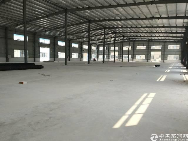 仲恺陈江镇独栋钢构厂房3000平方米招租滴水9米高
