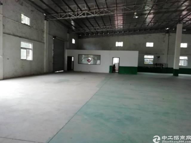 惠州小金口工业区内独院一楼1200平钢构厂房出租!-图4