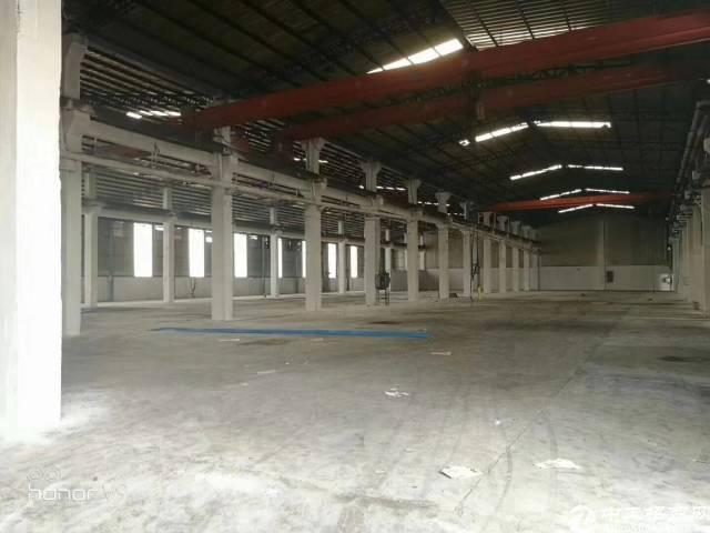 塘厦靠深圳观澜全新独院钢构招租。厂房
