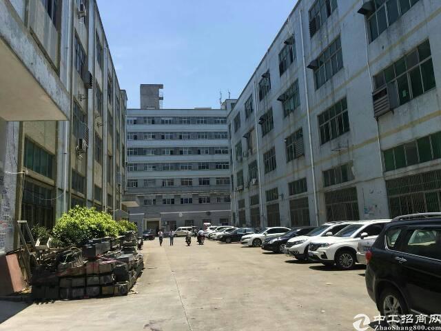 福永凤凰楼上2100平米带装修厂房出租