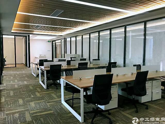 华南城地铁口豪华装修写字楼424现急招租