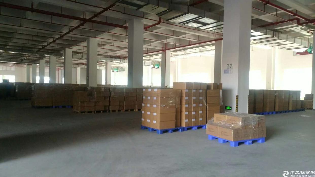 深圳智能产业园1-6层63000M带红本厂房招租