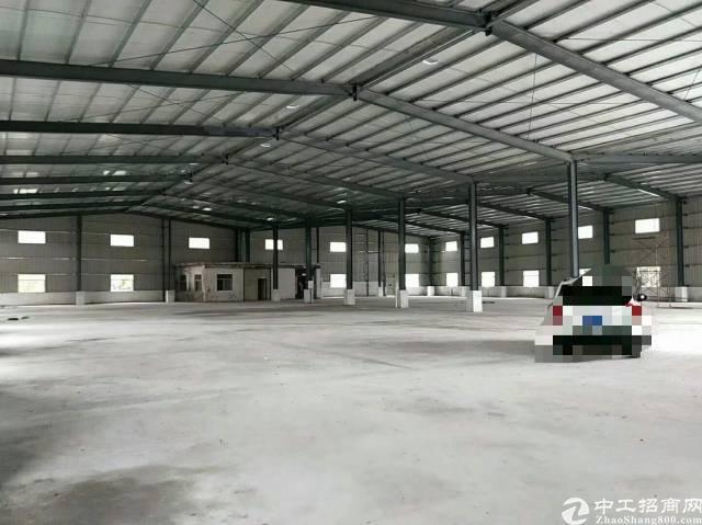 松山湖钢结构厂房滴水十米,可装行车,可进货柜车