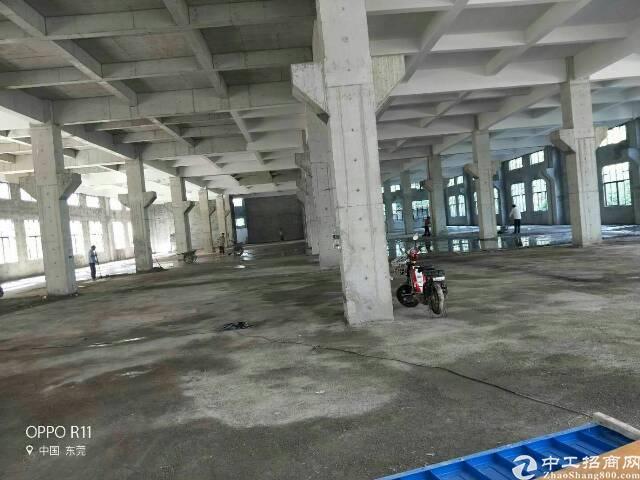 桥头成熟工业区新出全新标准厂房1-4层面积13800平方米