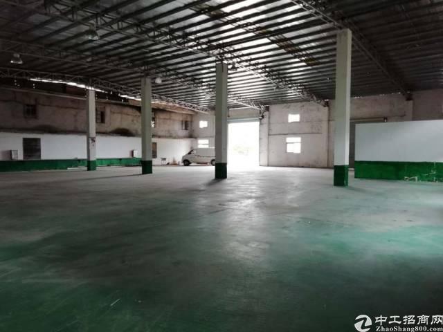 惠州小金口工业区内独院一楼1200平钢构厂房出租!-图2