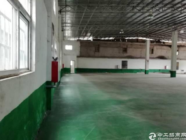 惠州小金口工业区内独院一楼1200平钢构厂房出租!-图3