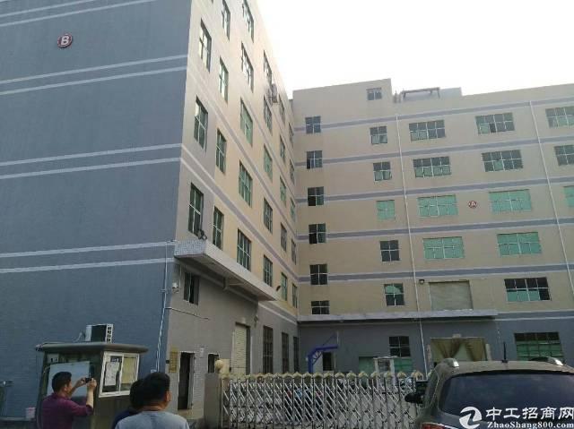 沙井步涌工业区新出装修厂房出租楼上960平,带装修