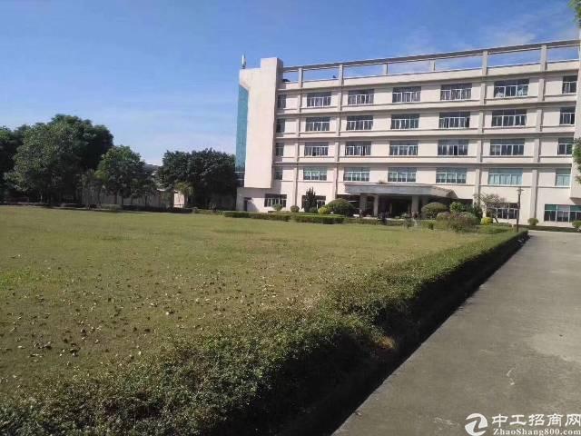 福永大型工业园现原房东整栋厂房出租