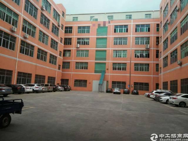 谢岗标准厂房1-3楼6900平。电600,8月底空