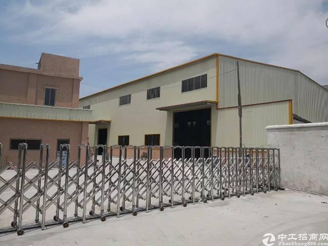 高埗镇小独院单一层钢构房1500平高7米