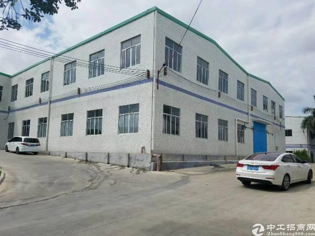 楼岗大道旁独院厂房1-2层7600平米、租金25元每平米