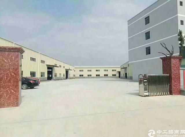 松岗楼岗义乌商业城附近新出经典独门独院钢构4800平方米
