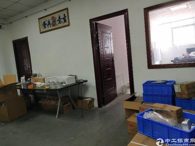 福永新田楼上680平方标准厂房出租