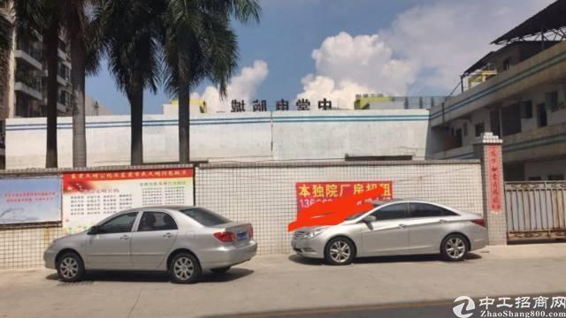中堂中心新出单一层大空地独院厂房低价招租