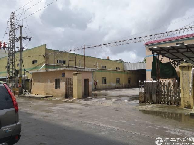 清溪林场单一层钢构厂房