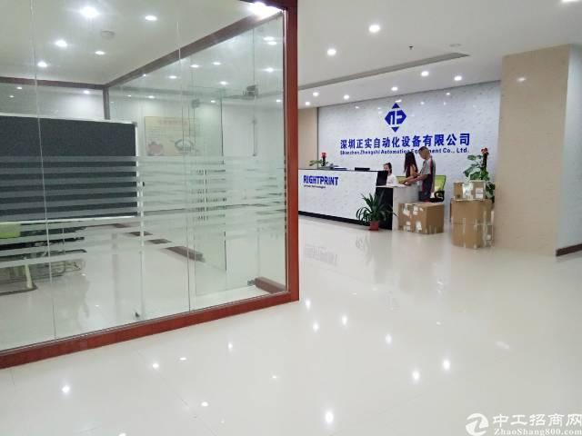 福永地铁1800平带精装修出租租金25